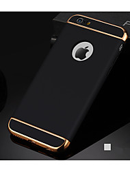 Three Stage Type Plated Border Protective Cover for iPhone Series