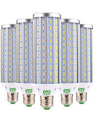cheap -45W E26/E27 LED Corn Lights 140 SMD 5730 4350-4450 lm Warm White Cold White 2800-3200/6000-6500 K Decorative AC 85-265 V