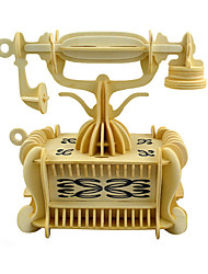 Недорогие -3D пазлы Автомобиль Веселье Дерево Классика Детские Универсальные Игрушки Подарок