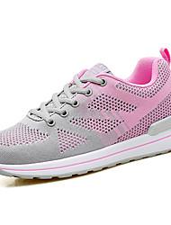 Women's Loafers & Slip-Ons Comfort Tulle Summer Outdoor Water Shoes Comfort Hook & Loop Flat Heel Blue Light Purple Black 2in-2 3/4in
