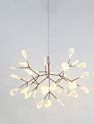 cheap -Modern/Contemporary LED Chandelier Ambient Light For Living Room Bedroom Entry Game Room Hallway Warm White 972-1080lm 110-120V 220-240V