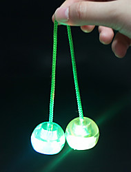 LED Lighting Stress Relievers Yoyo Balls Toys Circular Not Specified Unisex Pieces
