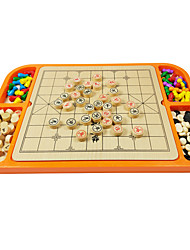 cheap -Chess Game Toys Natural Wood Pieces Ladies' Men Gift
