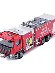 Недорогие -KDW Пожарная машина Боец Игрушечные грузовики и строительная техника Игрушечные машинки Машинки с инерционным механизмом Металл