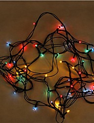 Decor Lights 5M 100 Led Colorful Light  Party Home Art Decoration Flash Lights