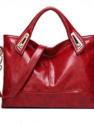 preiswerte -Damen Taschen Ganzjährig PU für Normal Schwarz Rote Braun