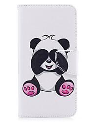 economico -Per iPhone X iPhone 8 Custodie cover Porta-carte di credito A portafoglio Con supporto Con chiusura magnetica Fantasia/disegno Integrale
