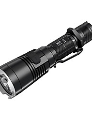 cheap -Nitecore MH27 LED Flashlights / Torch LED 1000 lm 4 Mode LED Impact Resistant Rechargeable Dimmable Waterproof Compact Size Clip Tactical