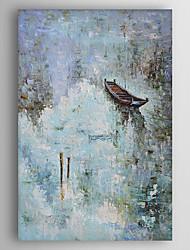 preiswerte -Handgemalte Abstrakt Vertikal, Abstrakt Segeltuch Hang-Ölgemälde Haus Dekoration Ein Panel