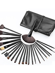 24Pcs Set Professional Makeup Brush Foundation Eye Shadows Lipsticks Powder Make Up Brushes Tools W/ Bag pincel maquiagem