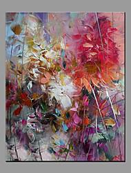 Dipinta a mano Astratto Moderno/Contemporaneo Un Pannello Tela Hang-Dipinto ad olio For Decorazioni per la casa