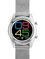 S9 Smart Watch with Variable Watch Faces Steel Strap Design Fitness Management and Media Control