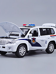 cheap -Toy Car Model Car Police car Classic Classic Boys'