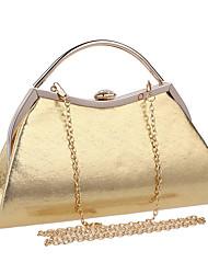 preiswerte -Damen Taschen Polyester Abendtasche Knöpfe für Veranstaltung / Fest Ganzjährig Blau Gold Schwarz Silber Rote