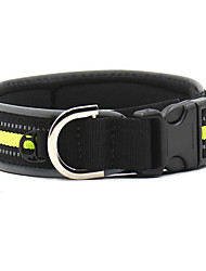 Collar Reflective Portable Low Noise Double-Sided Breathable Foldable Safety Adjustable Solid Geometry Nylon