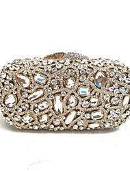 preiswerte -Damen Taschen Ganzjährig PU Metall Abendtasche für Gold