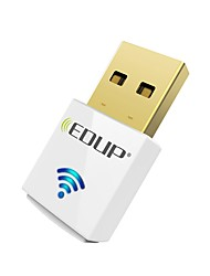 cheap -EDUP USB wirelss wifi adapter 600Mbps dual band 11AC Mini wireless network card dongle EP-AC1619