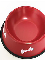 Cat Dog Bowls & Water Bottles Feeders Pet Bowls & Feeding Portable Random Color