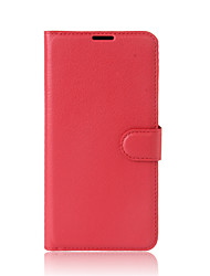 cheap -For Alcatel  A3 A3 XL Case Cover Card Holder Wallet with Stand Flip Full Body Case Solid Color Hard PU Leather for Alcate Series Mobile Phone