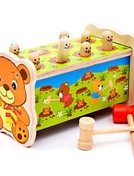 Недорогие -Игра Gopher Игра для всей семьи Игрушки Квадратный Веселье Дерево Детские Куски