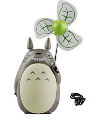 In 2017 The New USB Charging Totoro Cartoon Mini Mute Handheld Small Fan