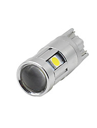 cheap -4Pcs Super Bright T10 W5W 194 168 3030 5SMD Led License Plate Dome Light