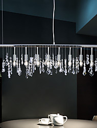 cheap -E12/E14 Crystal Pendant Light Modern/Contemporary Chrome Metal K9 Crystal Designers Ceiling Light Dining Room Study Room/Office
