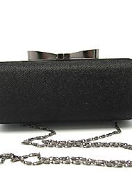 baratos -Mulheres Bolsas Couro Ecológico Metal Bolsa de Mão Cristal / Strass para Casamento Festa/Eventos Formal Escritório e Carreira Todas as