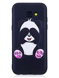 cheap -For Samsung Galaxy A3(2017)  A5(2017) Case Cover Panda Pattern Painted Feel TPU Soft Case Phone Case A3(2016)  A5(2016)