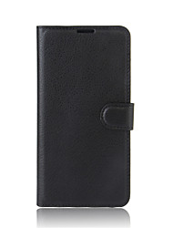 cheap -Case For Sony Xperia XP Sony Xperia XA Ultra Sony Sony Xperia XA Xperia XA Card Holder Wallet with Stand Flip Full Body Cases Solid Color