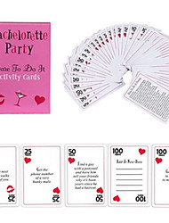 Bachelorette Party Dare to Do It Activities Game Cards Beter Gifts® Bachelor Party Supplies