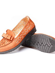 cheap -Women's Loafers & Slip-Ons Light Soles Tulle Summer Casual Flat Heel Camel Black Flat