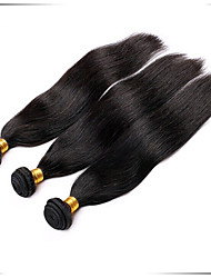 economico -Ciocche a onde capelli veri Brasiliano dritto 6 mesi 1 pezzo tesse capelli