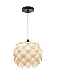 cheap -Pendant Light Downlight - Designers, Drum Modern / Contemporary, 220-240V Bulb Not Included