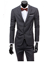 cheap -Men's Work Casual Spring Summer Suit