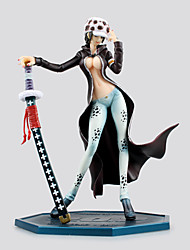 cheap -Anime Action Figures Inspired by One Piece Trafalgar Law PVC 20 CM Model Toys Doll Toy