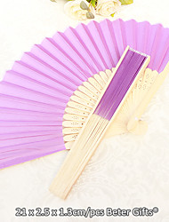 Debutante Ball Silk Hand Fans Beter Gifts® Ladies Night Out Essentials / DIY Party Crafts