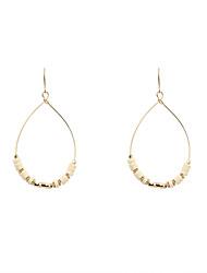 Fashion Women TearDrop Beaded Drop Earrings
