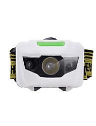 Torce frontali LED Lumens 4.0 Modo LED Batterie non incluse Facile da portare per Campeggio/Escursionismo/Speleologia Uso quotidiano