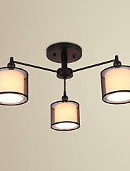 cheap -3-Light Flush Mount Ambient Light - LED, 220-240V Bulb Not Included / 10-15㎡ / E12 / E14