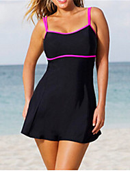 cheap -Ladies' Straped One-piece Solid Solid