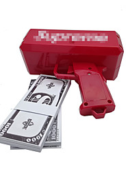 cheap -Money Gun, Make It Rain! 9V Battery, Play Money, Red Color