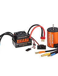 cheap -GoolRC Upgrade Waterproof 3650 3900KV Brushless Motor with 60A ESC Combo Set for 1/10 RC Car Truck