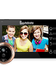 cheap -Danmini YB-43CHD-M 4.3inch Color Screen No Disturb Peephole Viewer Camera Door Eye Video Record IR Night Vision