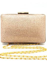 economico -Donna Sacchetti PVC Metallo Pochette Crystal / Rhinestone per Matrimonio Serata/evento Formale Per tutte le stagioni Blu Oro Nero Argento