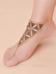 cheap -Women's Anklet/Bracelet Alloy Fashion Vintage Infinity Silver Gold Women's Jewelry For Daily Casual 1pc