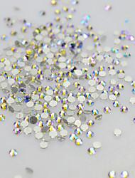 cheap -1pcs Rhinestones / Nail Jewelry Elegant & Luxurious / Sparkle & Shine Crystal / Luxury / Sparkling Wedding / Party / Party / Evening Nail