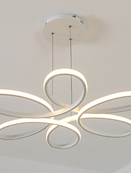 cheap -Pendant Light ,  Modern/Comtemporary White Feature for Dinmable Aluminum Living Room Bedroom Dining Room 1 Bulb