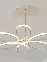 Недорогие -UMEI™ Подвесные лампы Рассеянное освещение белый Алюминий силикагель Диммируемая, Диммируемый с дистанционным управлением 90-240 Вольт Теплый белый / Белый Светодиодный источник света в комплекте