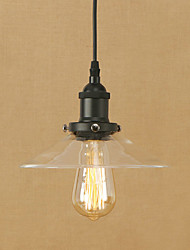 cheap -Pendant Lights Modern/Contemporary Retro for Mini Style Glass Lampshade Living Room Bedroom Dining Room